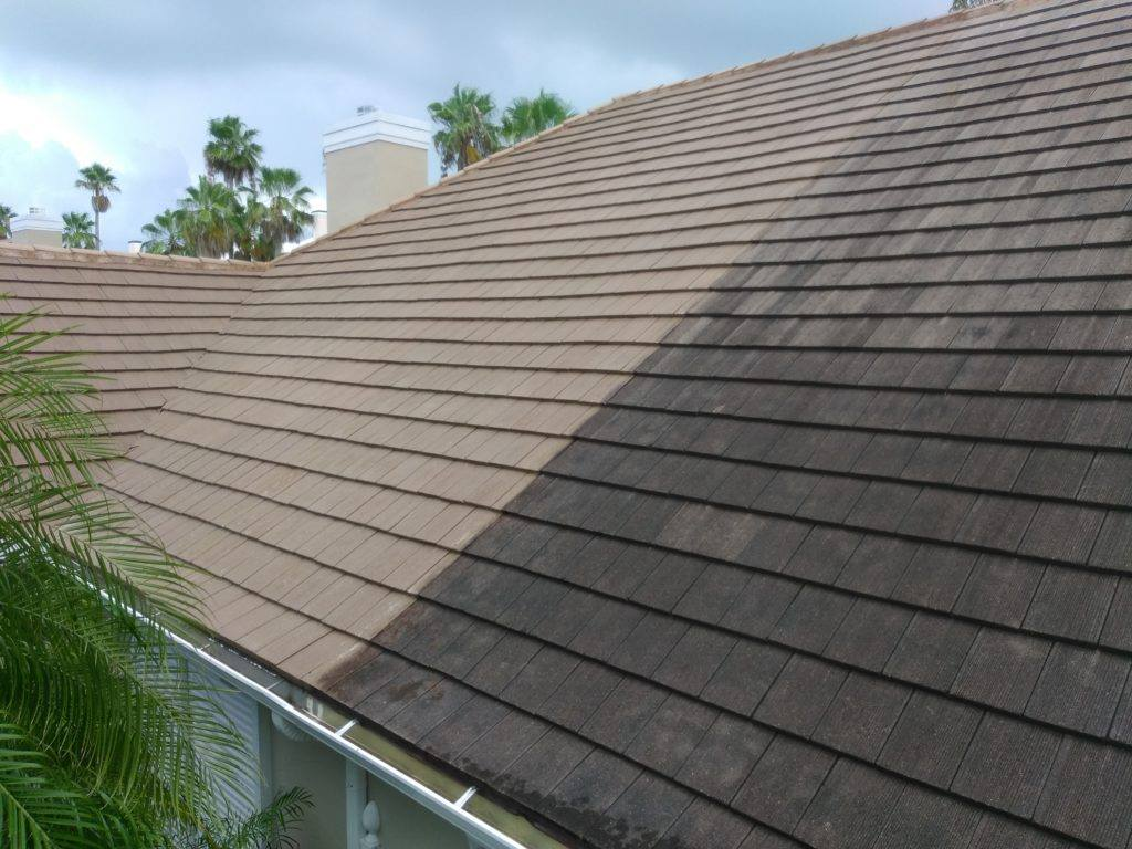 Shingle Roof Before After