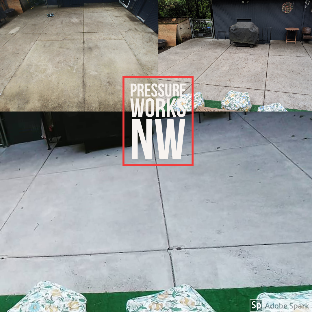 Patio Cleaning Sidewalk Cleaning Portland Oregon